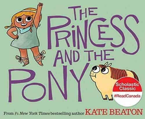 the princess and the pony kids book on princesses
