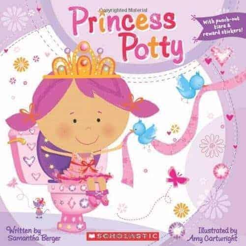 princess potty kids book about princesses