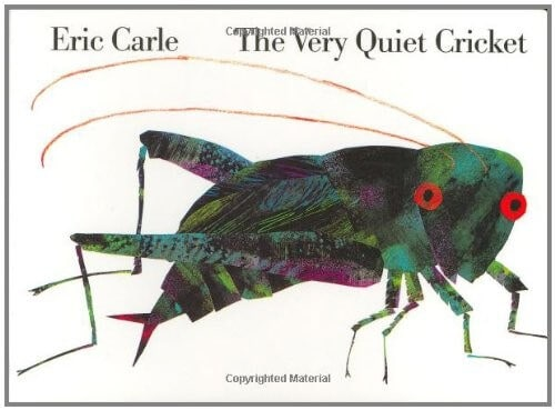 Eric Carle Book The Very Quiet Cricket