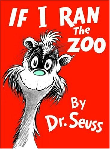 if i ran the zoo by dr seuss book for kids