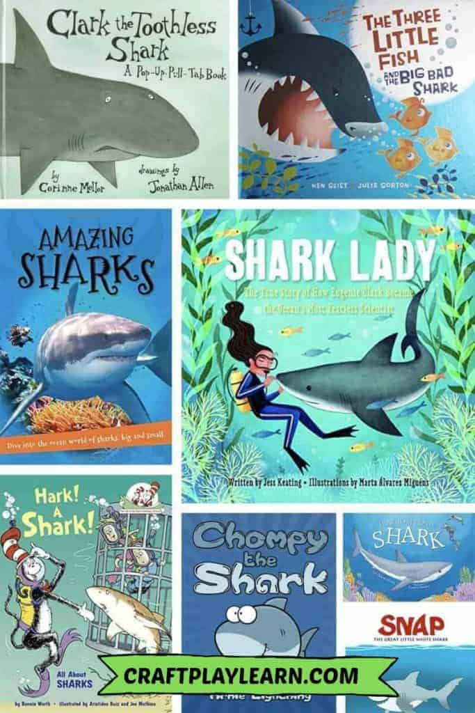 childrens shark books