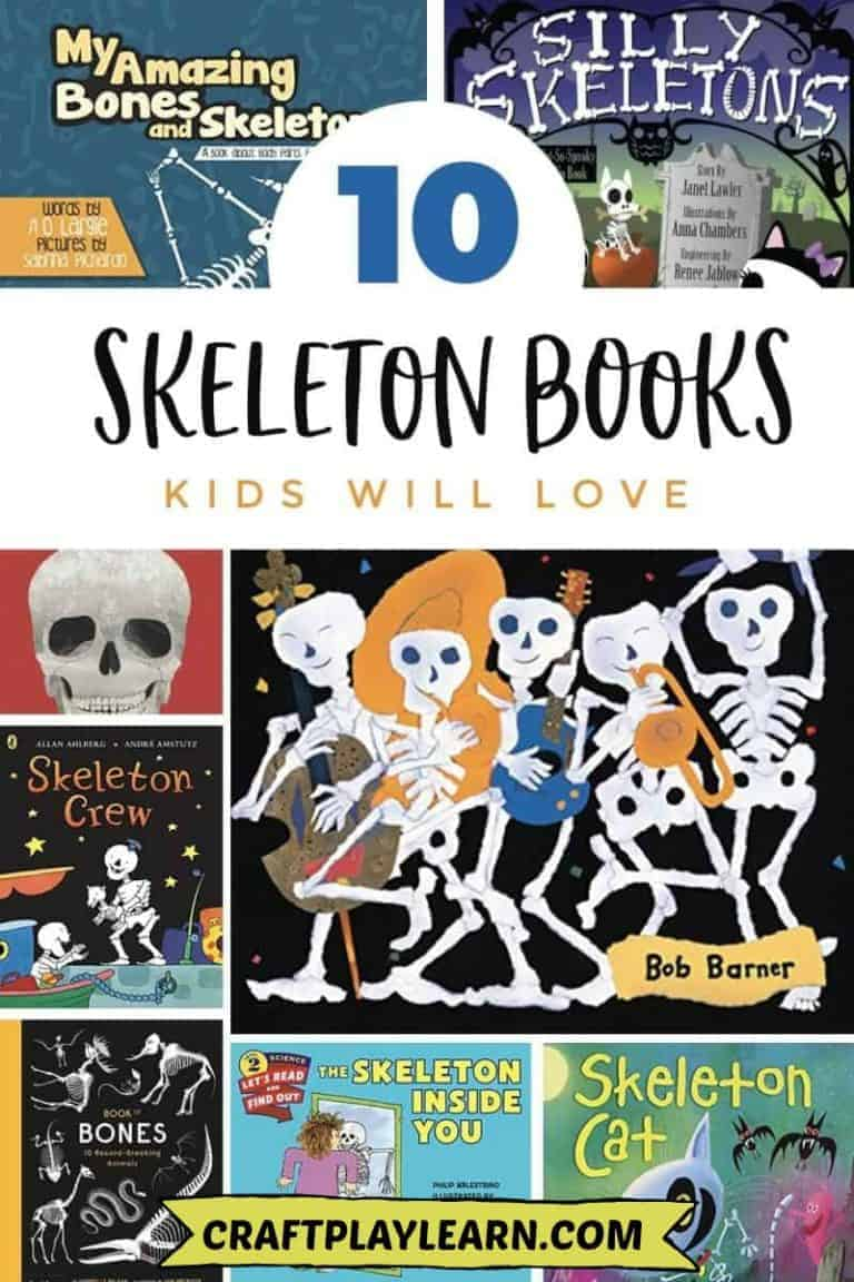 skeleton books for kids to read