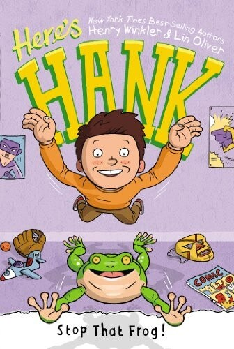 stop that frog says hank. a story book about a frog