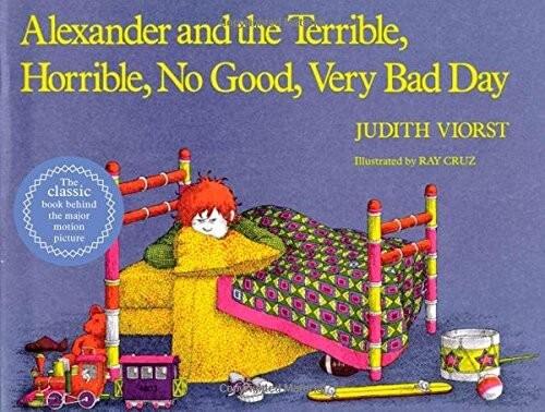 alexander and the terrible preschool books