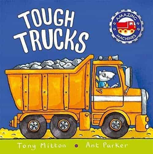 tough trucks a book for kids about trucks