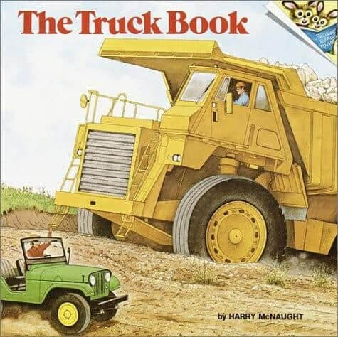the truck book a book about trucks for kids