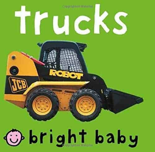 Trucks a book for toddlers