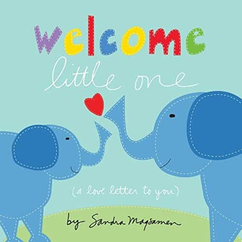 welcome little one a book about having a sibling, brother or sister