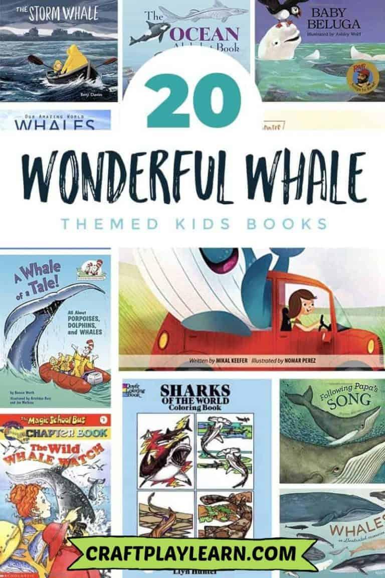 kids whale books