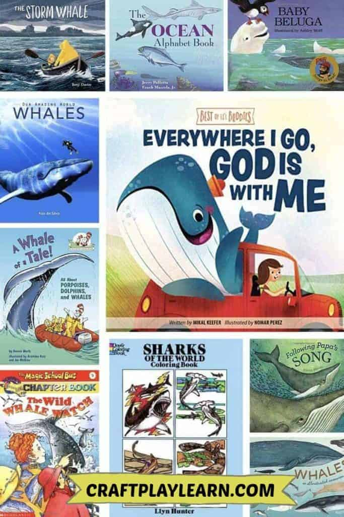 Children's books about whales