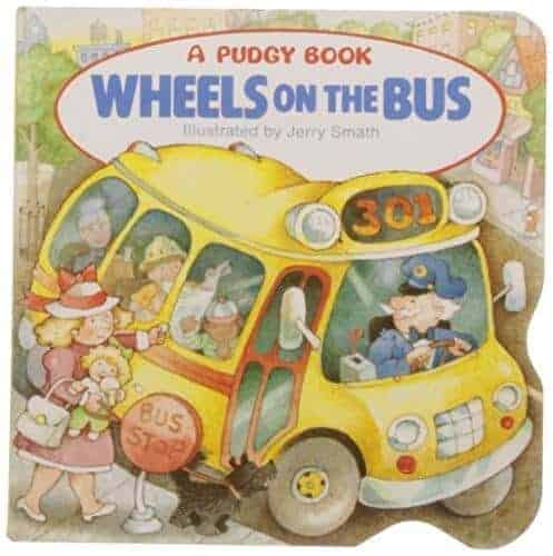 the wheels on the bus book for toddlers
