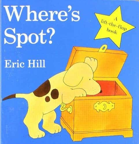wheres spot a book for toddlers to read with parents
