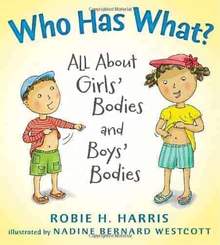 who has what a book about bodies for kids