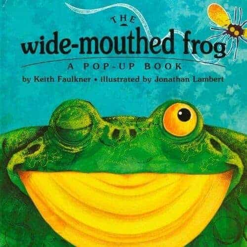 wide-mouthed-frog book for kids