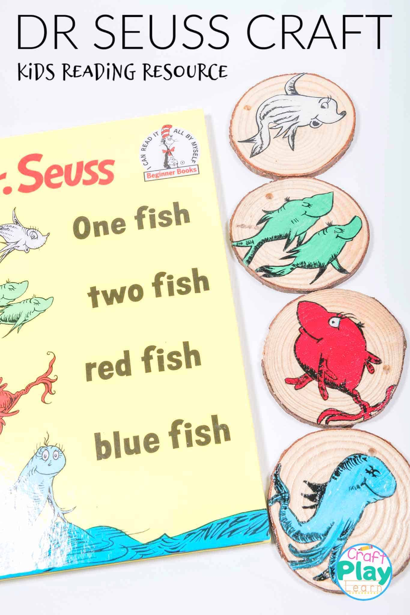 dr seuss one fish two fish craft