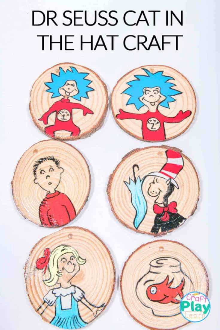 dr suess cat in in the hat arts and crafts
