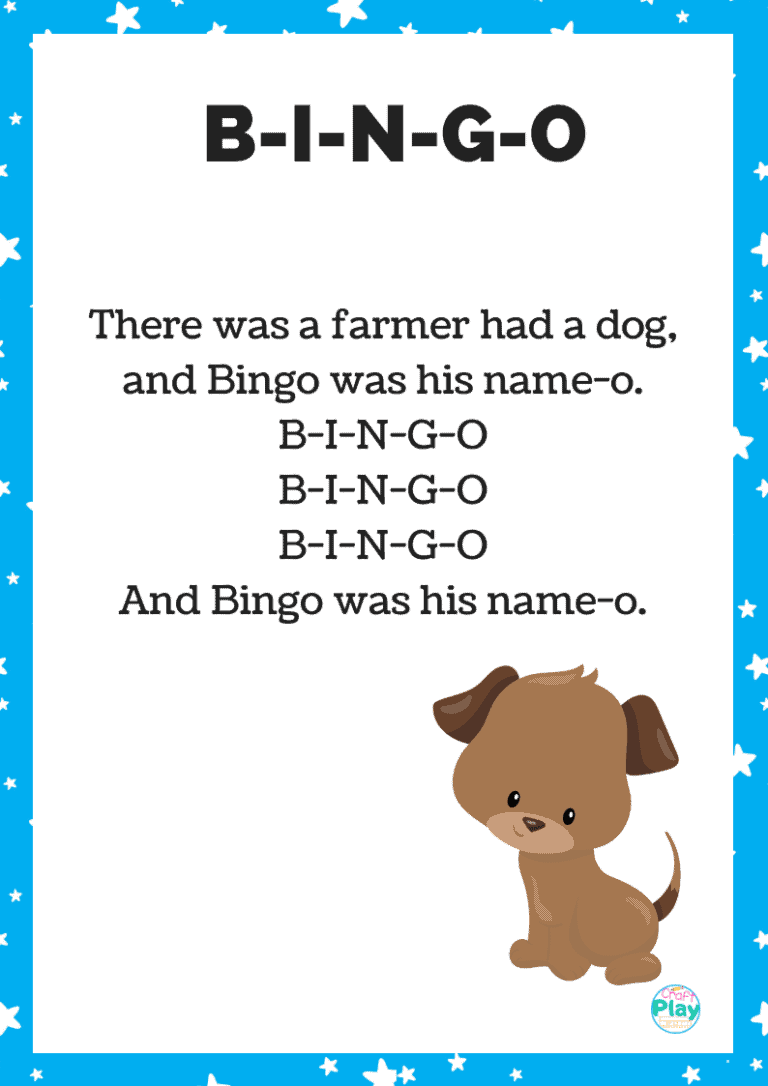there was a dog called BINGO