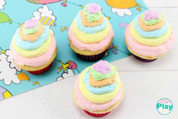 oh the places you'll go cupcakes for dr seuss party
