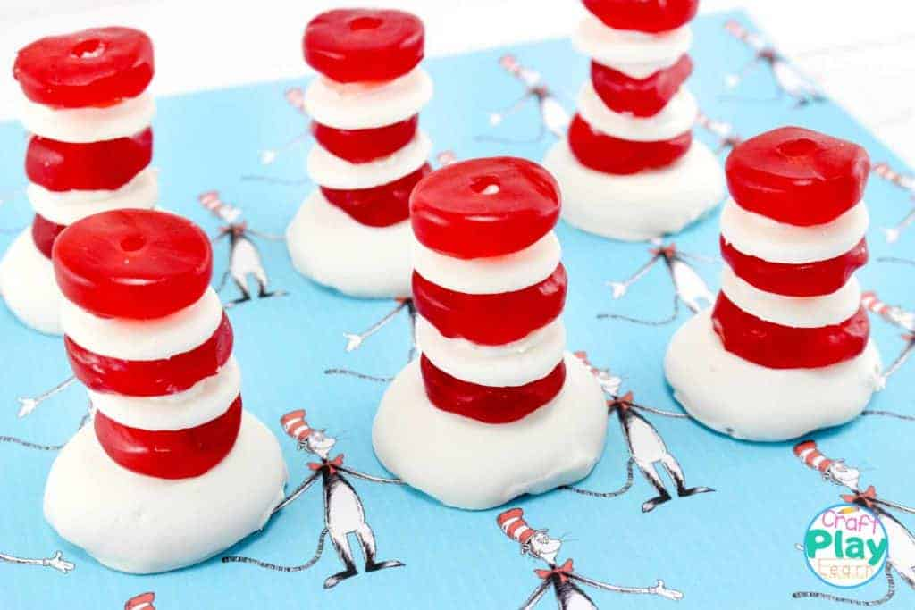 DR SEUSS CAT IN THE HAT PARTY TREATS