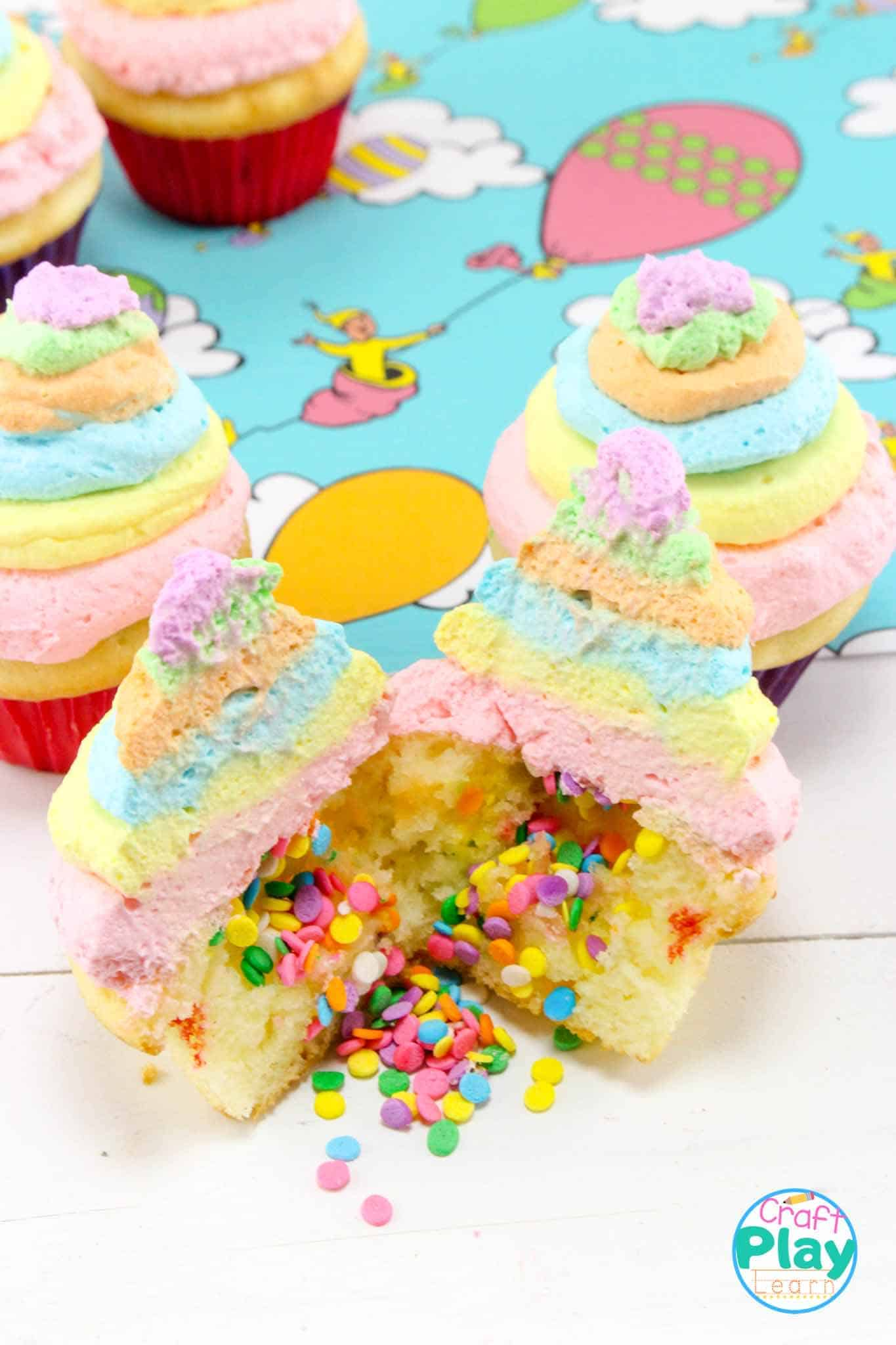 dr seuss party food idea oh the places you'll go cupcakes