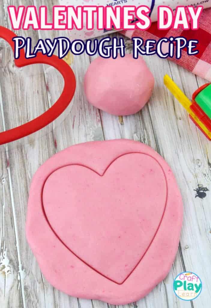 Valentines Day Play Dough Recipe