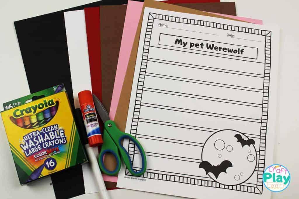 werewolf craft supplies