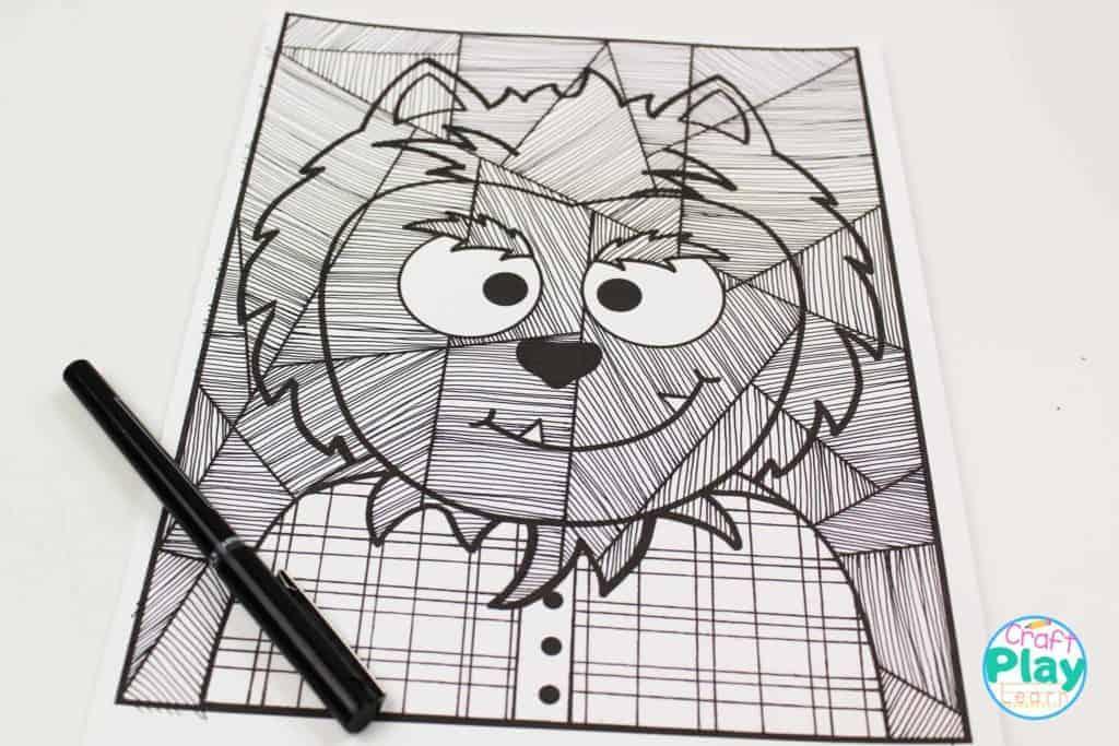 werewolf line study