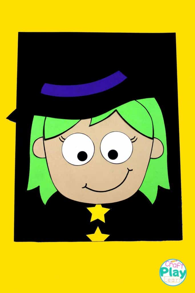making a halloween witch craft