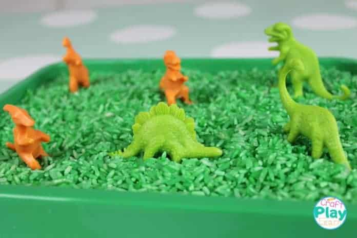 dinosaur sensory activity for kids