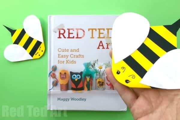 bee corner bookmark