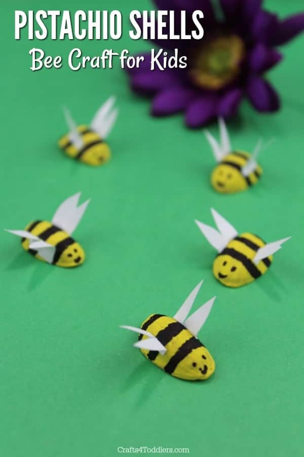 pistachio shell bees