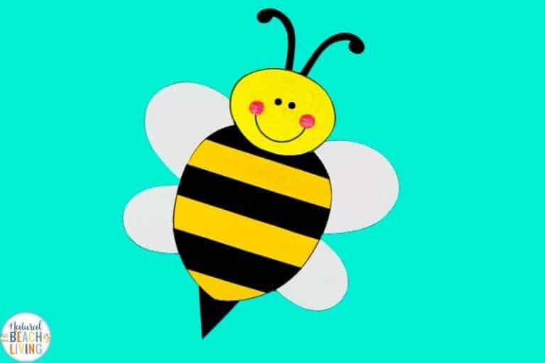 preschool bee craft