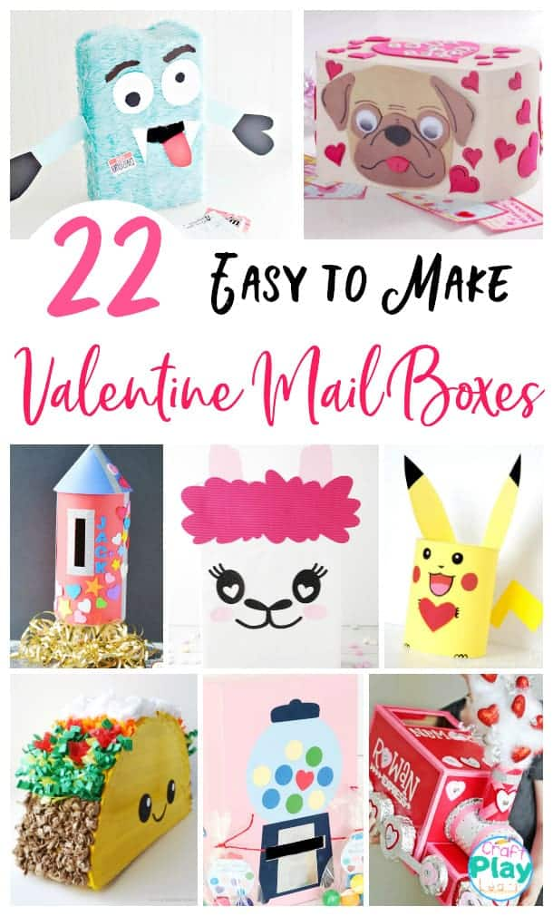 easy diy valentines mail boxes