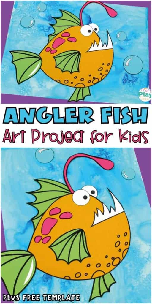 angler fish craft for kids