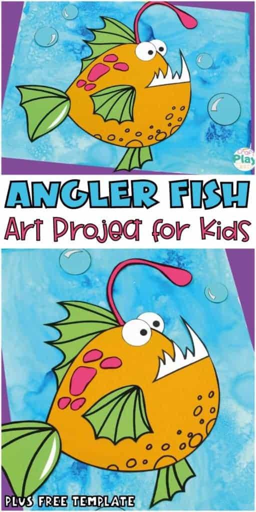 angler fish craft for kids
