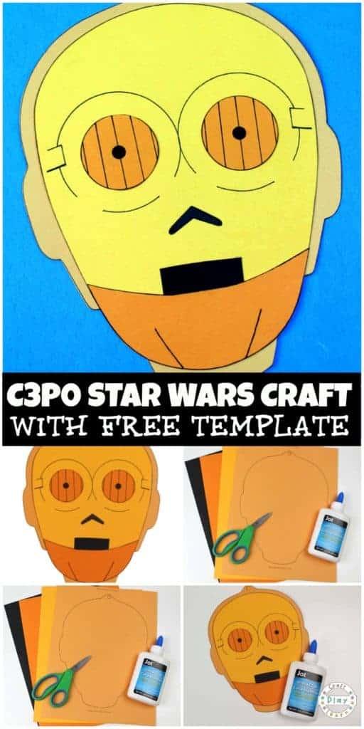 c3p0 star wars craft