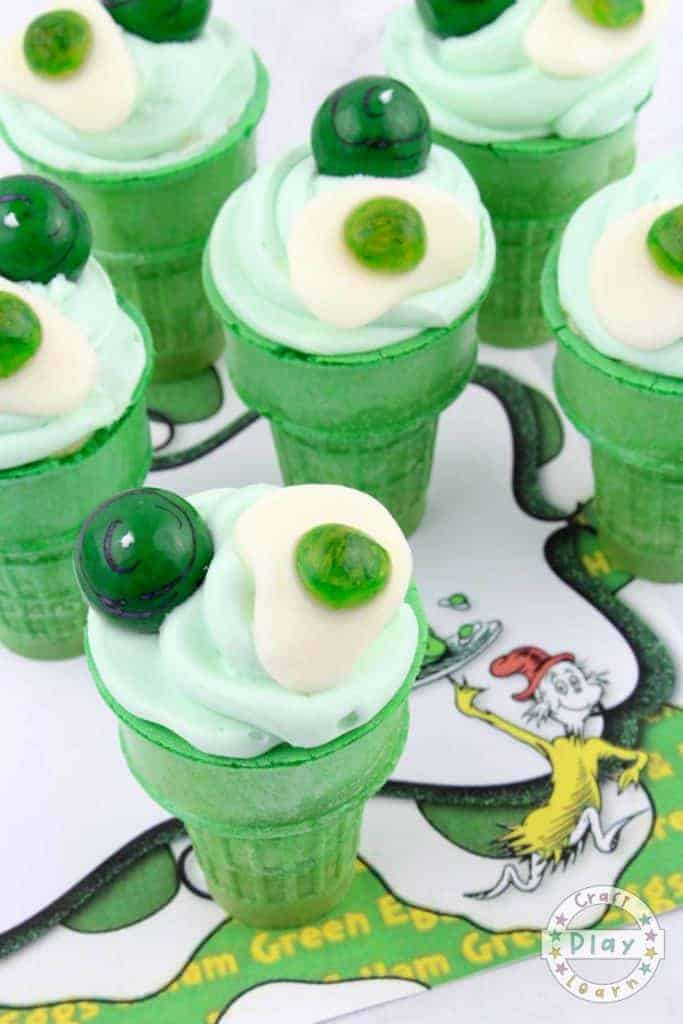 green eggs and ham party food idea