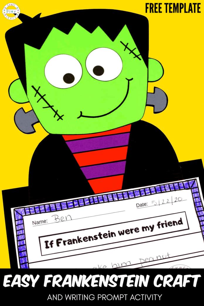 easy frankenstien craft idea