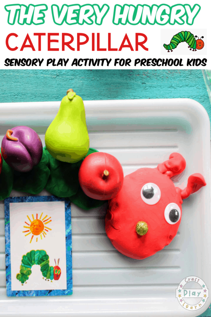Very Hungry Caterpillar Play Dough Activity