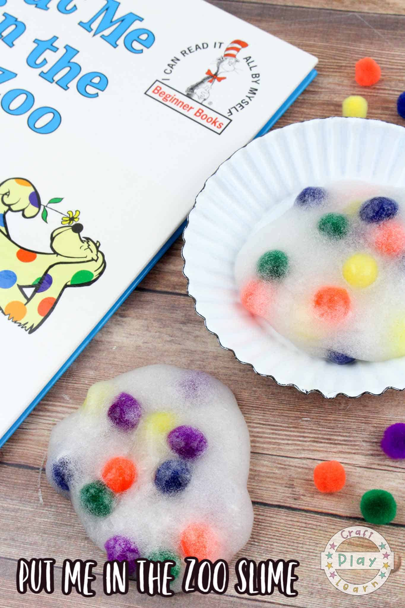 how to make clear slime for kids