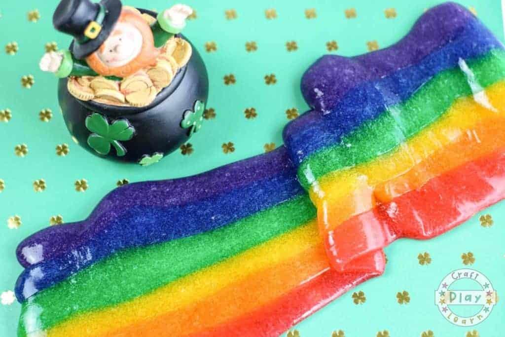 rainbow slime image