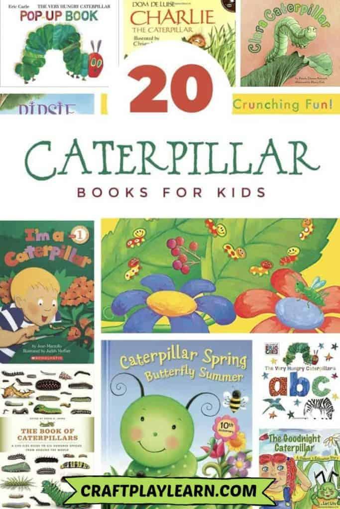 20 caterpillar books for kids