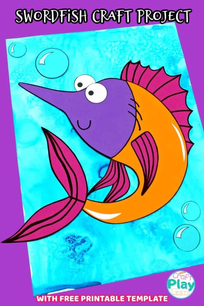 swordfish craft project