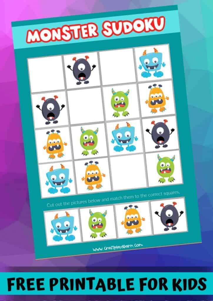 monster printable sudoku puzzles