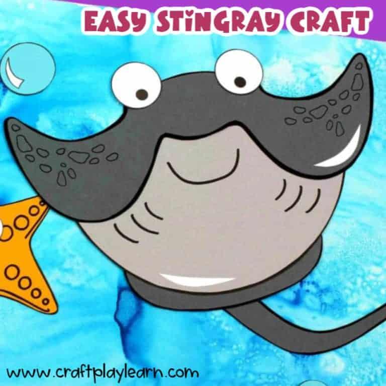 stingray craft for kids