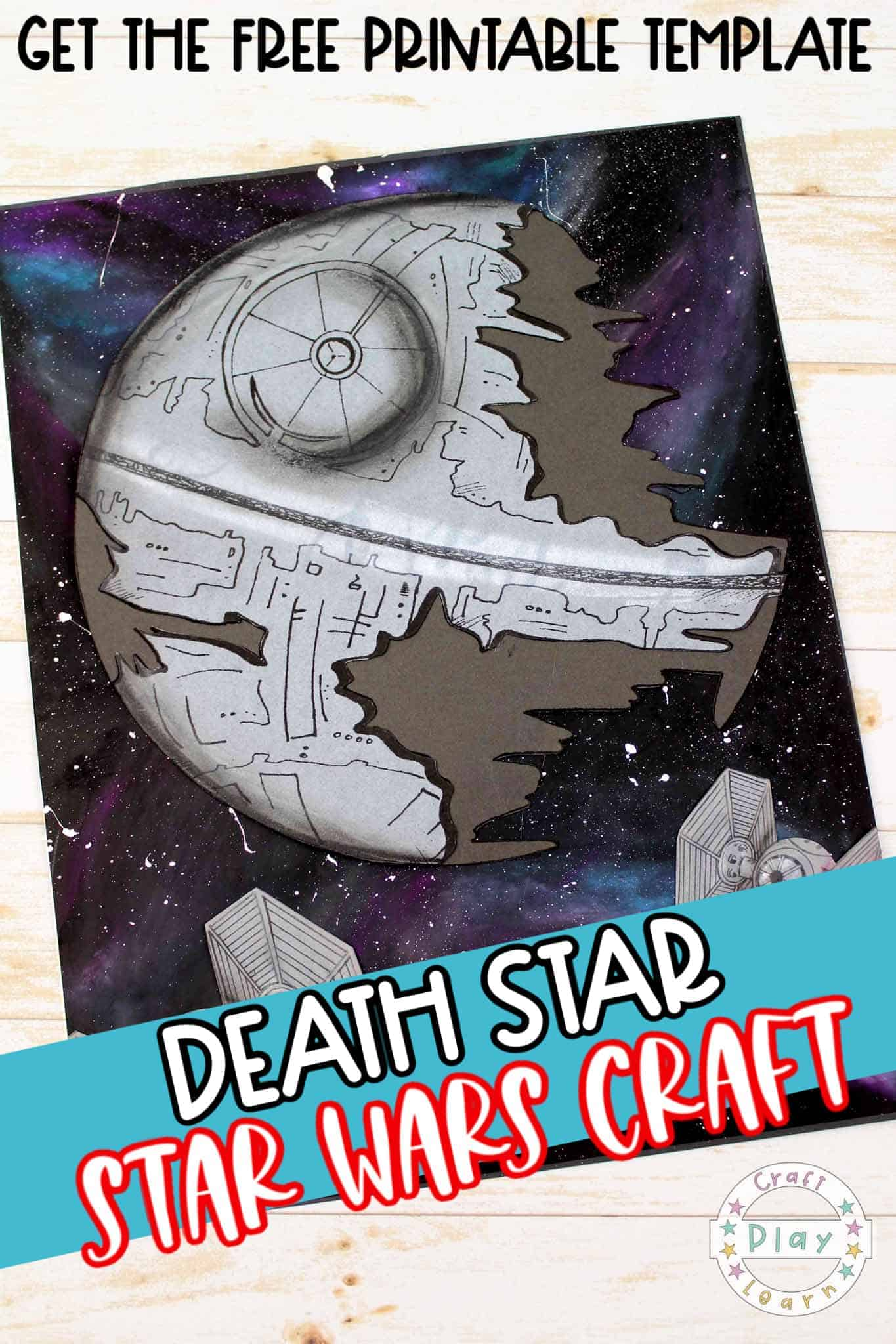death star art project for children