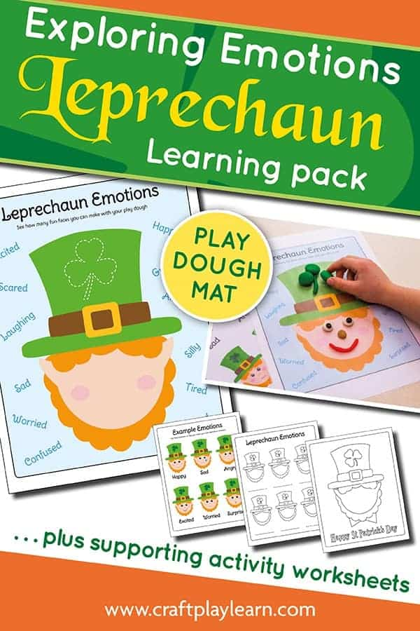 Leprechaun Saint Patricks Day Printables
