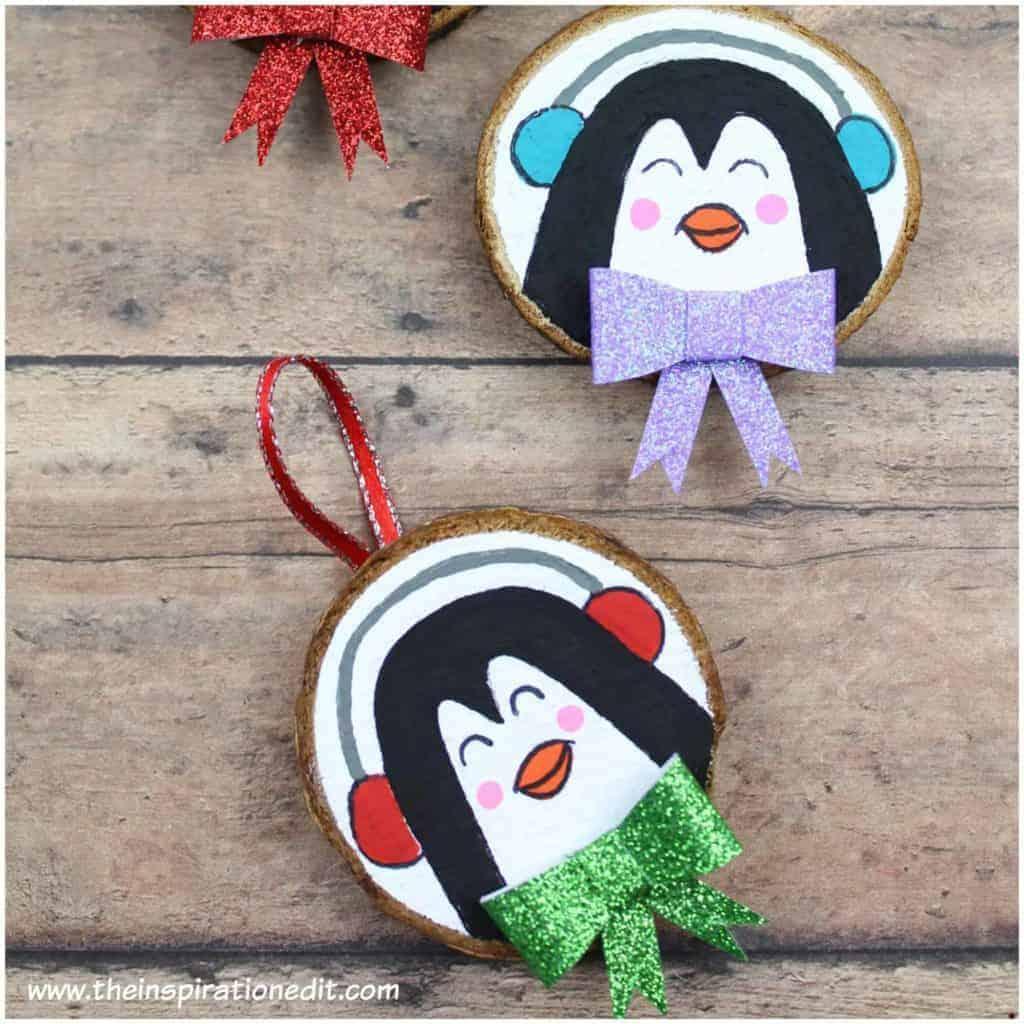 christmas penguin craft