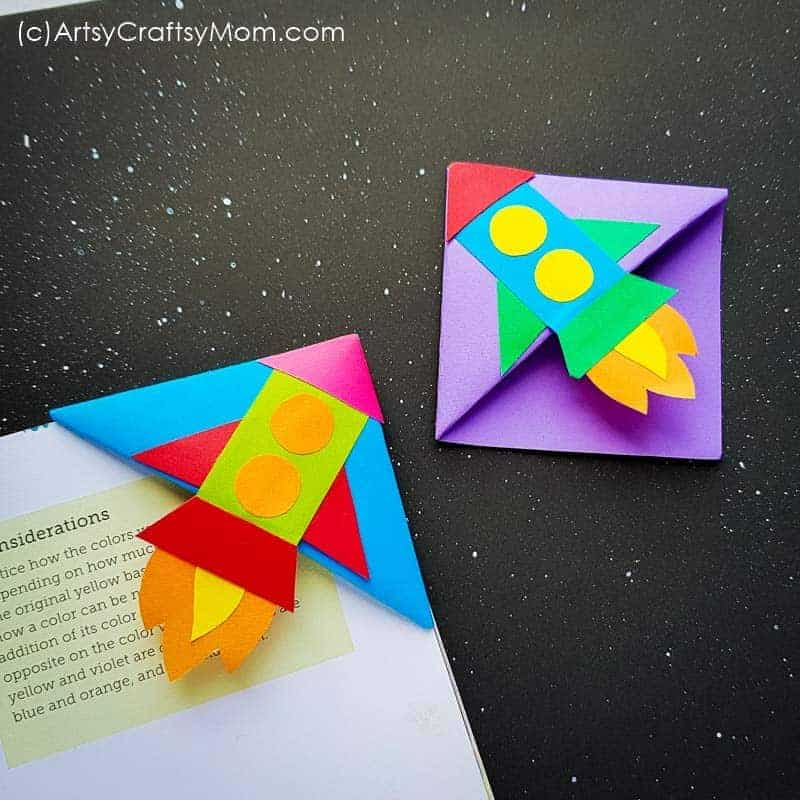 Amazing Origami Bookmarks: Darth Vader, Alien, and Heart (with ... | 800x800