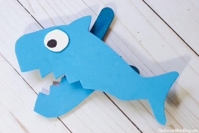 chomping shark craft